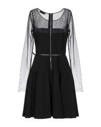 Liu Jo Black Kurzes Kleid