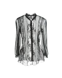 Nolita - Black Shirt - Lyst