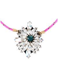 Shourouk - Metallic Necklace - Lyst