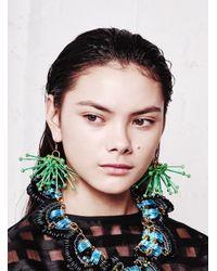 Kirsty Ward | Green Cluster Earrings - Last Pair | Lyst