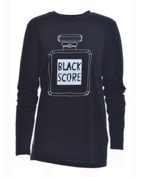 Simeon Farrar - Black Perfume Bottle Long Sleeved Tee - Lyst