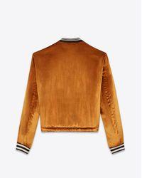 Saint Laurent Metallic Casual Jackets for men
