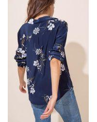 Yumi Kim - Blue East Side Silk Top - Lyst