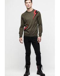 Zadig & Voltaire Green Kennedy Bis Sweater for men