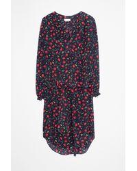 Zadig & Voltaire Multicolor Render Print Dress