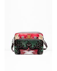 Zadig & Voltaire Multicolor Xl Boxy Nash Bag