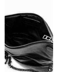 Zadig & Voltaire Black Rock Mat Clutch
