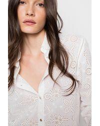 Zadig & Voltaire | White Tuyu Shirt | Lyst
