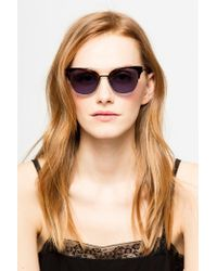 Zadig & Voltaire Brown Butterfly Sunglasses