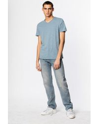 Zadig & Voltaire Blue Terry T-shirt for men