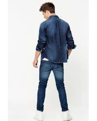 Zadig & Voltaire Blue David Stone Jeans for men
