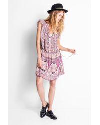 Zadig & Voltaire Pink Rimana Print Dress