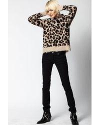 Zadig & Voltaire Natural Gillian Cashmere Leo Sweater