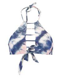 Billabong Blue Tidalwave Hawaii Bikini Bottom