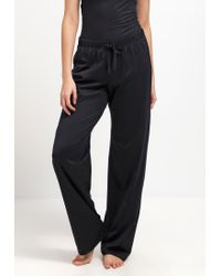 Hanro | Black Cotton Deluxe Pyjama Bottoms | Lyst