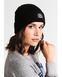 Obey | Black Onset Beanie Hat for Men | Lyst