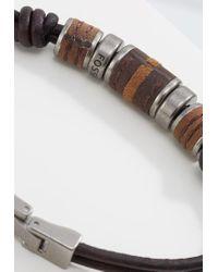 Fossil   Brown Bracelet for Men   Lyst