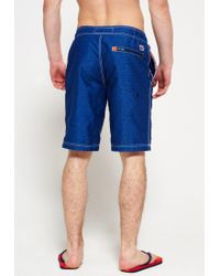 Superdry | Blue Cali Swimming Shorts for Men | Lyst