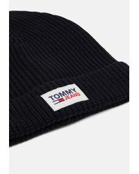 Tommy Hilfiger PATCH BEANIE - Mütze in Black für Herren