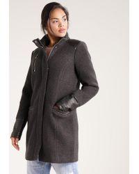 Vero Moda | Gray Vmwoods Classic Coat | Lyst