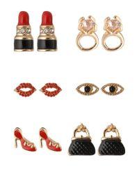 ALDO | Red Umerin Earrings | Lyst