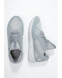 Adidas Originals | Gray Tubular Runner Trainers for Men | Lyst