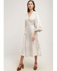 Free People | White Maxi Dress | Lyst