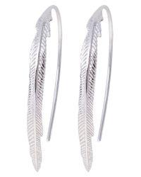 Fossil   Metallic Earrings   Lyst