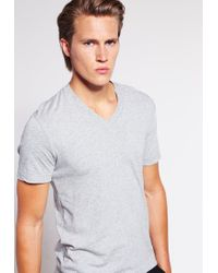 James Perse | Gray Basic T-shirt for Men | Lyst