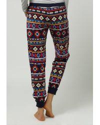 Kensie | Blue Arctic Chill Pyjama Bottoms | Lyst