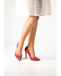Love Moschino | Red Classic Heels | Lyst