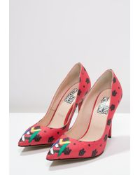 Love Moschino   Red Classic Heels   Lyst