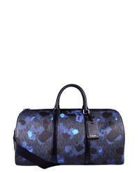 Michael Kors | Blue Jet Set Painterly Camo Large Duffel Bag for Men | Lyst