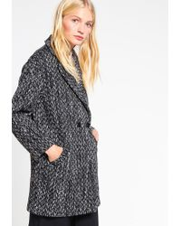 Oasis   Black Nicole Short Coat   Lyst