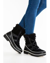 Sorel | Black Tivoli Ii Lace Up Boots | Lyst