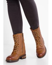 Steve Madden | Brown Tropa 2.0 Lace-up Boots | Lyst