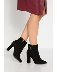 Ted Baker | Black Maryne High Heeled Ankle Boots | Lyst