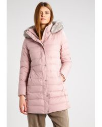 Tommy Hilfiger | Natural New Tyra Down Coat | Lyst