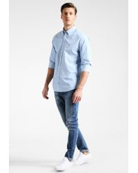 Tommy Hilfiger | Blue Square New York Fit Shirt for Men | Lyst