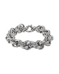 Tommy Hilfiger | Metallic Classic Signature Bracelet | Lyst