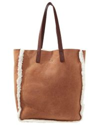 UGG | Brown Claire Tote Bag | Lyst