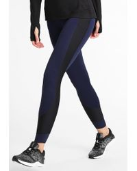 Under Armour   Blue No Breaks Tights   Lyst