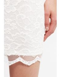 Vero Moda | White Vmyoung Cocktail Dress / Party Dress | Lyst