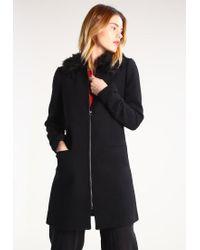 Vero Moda   Black Vmshare Short Coat   Lyst