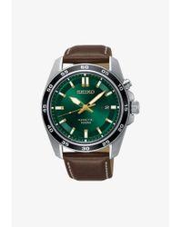 Seiko Uhr in Metallic für Herren
