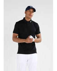 J.Lindeberg   Black Tour Tech Slim Sports Shirt for Men   Lyst