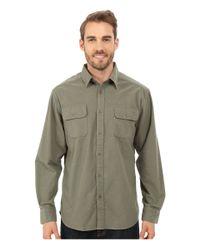 Mountain Khakis Gray Ranger Chamois Shirt for men