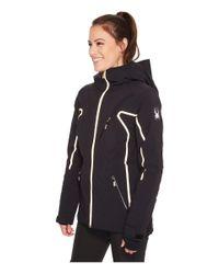 Spyder Black Syncere Jacket