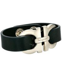 Ferragamo   Black 345965 Bracelet   Lyst