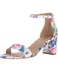 Vaneli Multicolor Meres (multi Floral Satin) Shoes